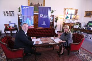 A Magyar Diplomáciai Akadémia együttműködési megállapodást kötött a Tungsrammal