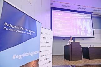 Nagyvállalati konferencia a Budapesti Corvinus Egyetemen