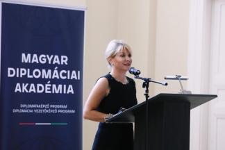 A Magyar Diplomáciai Akadémia megtartotta a Diplomataképző Program és a Diplomáciai Vezetőképző Program évnyitó rendezvényét