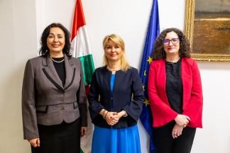 Diplomáciai akadémiák vezetőinek tapasztalatcseréje a Külgazdasági és Külügyminisztériumban
